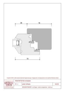 thumbnail of IV-68 Fenstertür seitlich Griffseite