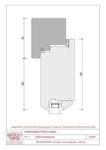 thumbnail of IV-68 Haustür seitlich Garniturseite