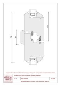 thumbnail of IV-90 Terrassentür Stulp Standard (beidseitig bedienbar)