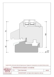 thumbnail of IV-90 Terrassentür unten Holzschwelle (innen bedienbar)